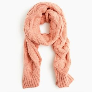 J.CREW   Loopy Stitch Oversized Cable Knit Scarf